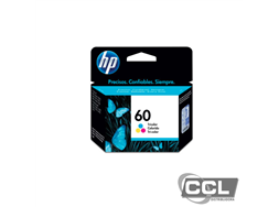 Cartucho de Tinta HP 60 CC643WB Color