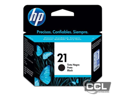 Cartucho HP 21 C9351AB preto original
