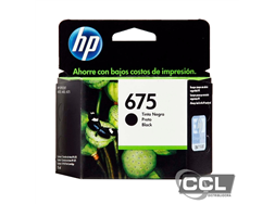 Cartucho HP 675 CN690AL preto original