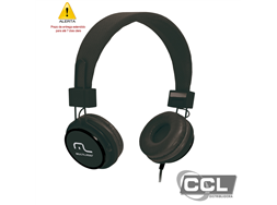 Headphone Fun preto Multilaser - PH115