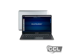"Notebook Legacy Book Intel Celeron 4gb 500gb 14.1"" HD Linux Cinza Multilaser - PC231"