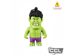 Pen drive Multilaser Marvel Vingadores Hulk 8GB - PD082